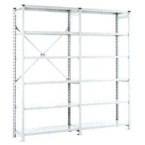 Euro Shelving Open Bay - 6 shelf Starter 1800h x 1000w x 450d