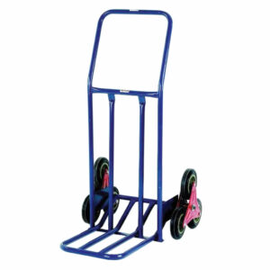 Extra Wide Stairclimber Trolley With Pneumatic Tyres - 75kg Capacity