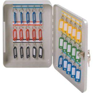 Fixed Hook Key Cabinets 20 key capacity