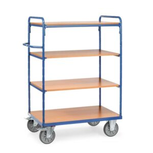 Heavy Duty Shelf Trolley 4 Tier 1000 x 700 x 1552mm High