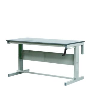 Height Adjustable Workbenches with MFC Top 1200w x 600d Bench