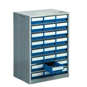 High Density Storage Cabinets Grey 48x 82h x 92w x 400d Bins