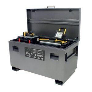 Job-site Lockable Sitebox castors 125mm dia.