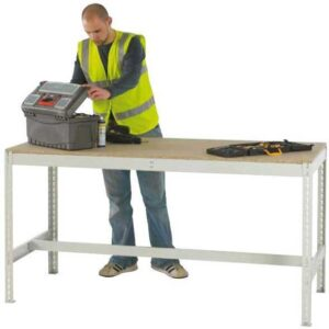 Just Workbench with Chipboard Top 2400 wide x 900 deep