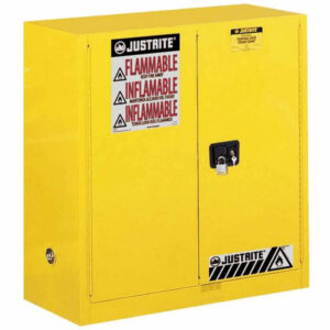 Justrite Sure-Grip EX Flammable Storage Cabinet self close 227L
