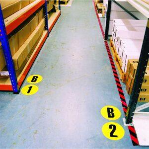 Letter / Number Floor Sign