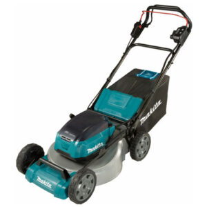 Makita Makita DLM462PT4 Brushless Steel Deck Self-Propelled Lawn Mower 46cm (with 4 x 5.0Ah Batteries and DC18RD Twin Port Charger)