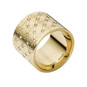 Michael Kors Logo Monogram Ring