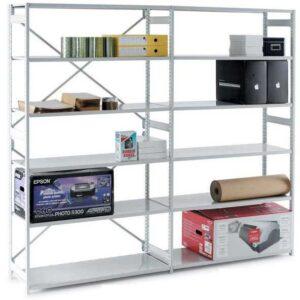 Mono Shelving Starter Bay - 1850h x 1250w x 300d 6 Shelves