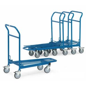 Nesting Warehouse Trolley With Single Platform - 300kg Capacity