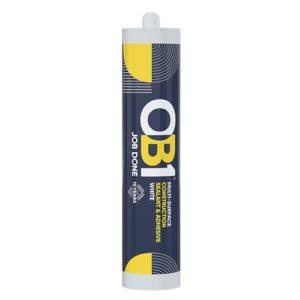OB1 290ml Sealant & Adhesive - White