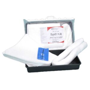 Oil & Fuel Spill Kit with drip tray included - 30 litre