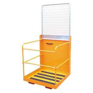 Personnel Access Forklift Cage 0.95m x 0.95m with lift up bar