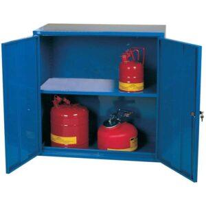Pesticide Storage Cabinet / Cupboard 610h x 610w x 460d 1 Door 1 Shelf