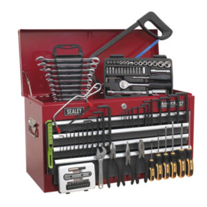 Sealey American Pro 6 Drawer Top Chest Tool Box & 97pc Tool Kit