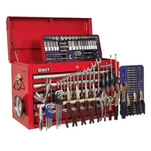 Sealey H/D 5 Drawer Top Chest Tool Box with 138pc Tool Kit