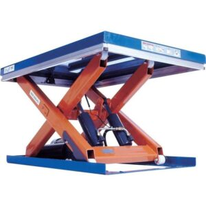 Single Scissor Lift Tables 1,500kg cap 1200w x 1700 long