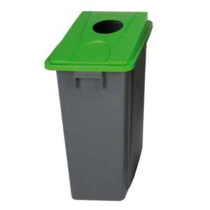 Slim Bin Recycling Bin 80L - Grey