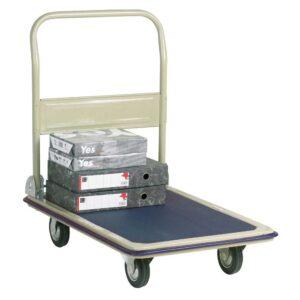 Steel Economy Folding Trolley with PVC base 610w x 910 L 250kg cap