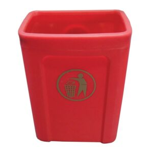 Titus Mounted Litter Bin Without Lid