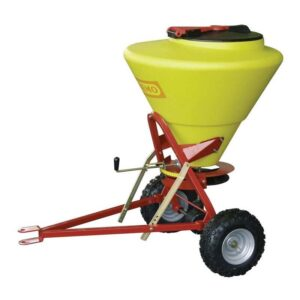 Towable Grit / Salt Spreader Pin Hitch 130ltr capacity - 5m spread