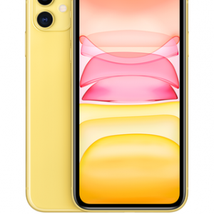 Apple iPhone 11 64GB Yellow at £9 on Unlimited with Entertainment (24 Month contract) with Unlimited mins & texts; Unlimited 5G data. £65 a month.