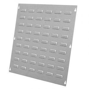 Bench Stand Louvre Panel for Rhino Tilt Bins - 457mm H x 457mm W - 6x9 Louvre Panel Value