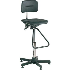 Bott Industrial Moulded Chair, High-Lift Classic with Footrest