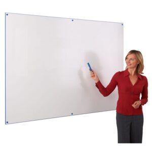 Colour edged whiteboard 600 x 900