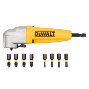 DeWALT DT70619T Impact Rated Right Angle Drill Attachment & 8 Bits