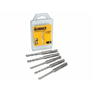 DeWALT DT9398 SDS Plus Drill Bit Set, 5 Piece