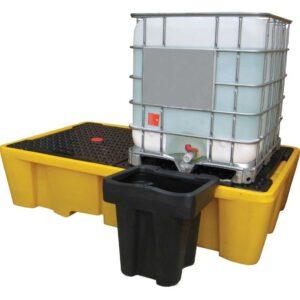Double IBC Bund Pallets - 1,140 litre / 2,000kg capacity