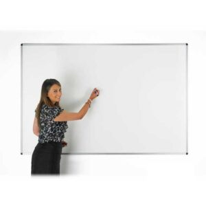 Dry Wipe Whiteboard Non Magnetic 2400mm x 1200mm