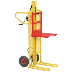 Easy Tip Winch Stacker with 100kg Capacity