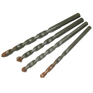 Faithfull Tile Max Porcelain Drill Bit Set, 4 Piece