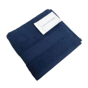 Hamilton McBride Bath Towel Dark Blue