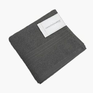 Hamilton McBride Hand Towel Charcoal