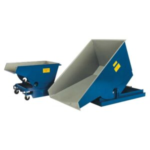 Heavy Duty Tipping Skips - 1.2 cubic m - 1750kg capacity