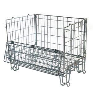 Hypacage Mesh Pallet Cage - 600kg capacity - 1000h x 1200w x 1000d