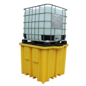 IBC Bund Pallet with 4 way FLT access for 1 x 1000 container