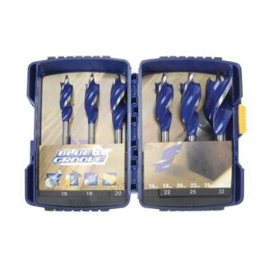 IRWIN® Blue Groove 6X Wood Drill Bit Set, 6 Piece 16-32mm