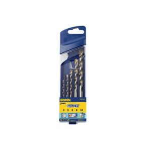 IRWIN® Cordless Multi-Purpose Drill Bit Set 5 Piece 4-10mm