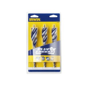IRWIN® IRWIN 6X Blue Groove Wood Drill Bit Set 3 Piece 20-25mm