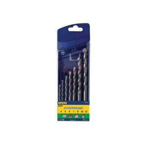 IRWIN® Masonry Drill Bit Set 7 Piece 4-12mm