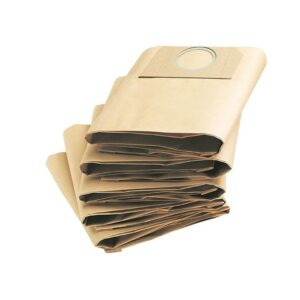 Karcher Dust Bags for A2234 A2200 MV2 and WD2 Vacuum Pack of 5