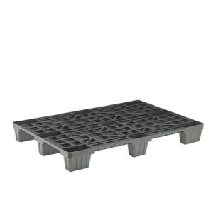 Mediumweight Plastic Pallet - Gridded , Recycled 1200 x 1000, 1800kg