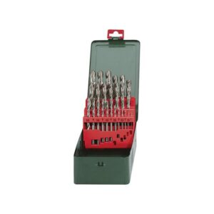 Metabo HSS-G Drill Bit Set 25 Piece