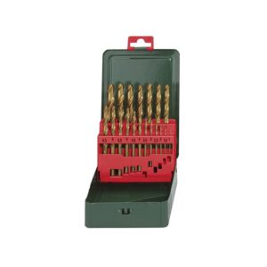 Metabo HSS-Tin Drill Bit Set 19 Piece