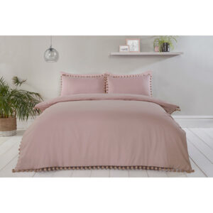 Pom Pom Single Duvet Set