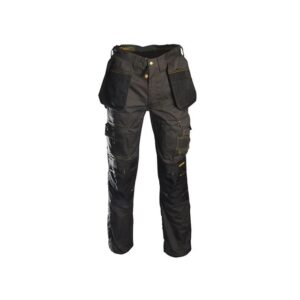 Roughneck Clothing Black & Grey Holster Work Trousers Waist 38in Leg 31in